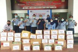 Jajaran Keimigrasian Sulsel kumpulkan donasi untuk korban gempa Sulawesi Barat