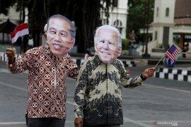 Presiden Jokowi ucapkan selamat atas pelantikan Biden
