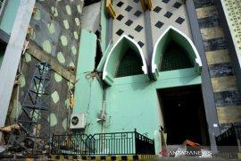 Tempat ibadah terdampak gempa bumi di Sulbar