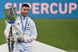 Cristiano Ronaldo anggap penting keberhasilan Juve menangi Piala Super Italia