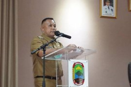 Pemkab Lampung Selatan bangun kantor desa di Sabah Balau