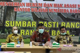 Rp659 juta disiapkan Kemenkumham Sumbar  untuk bantuan hukum masyarakat miskin