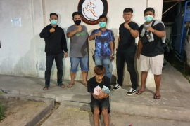 Pengedar uang palsu ditangkap polisi Payakumbuh saat enak tidur