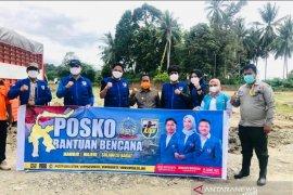 KNPI Sulsel dan Sulteng kolaborasi beri trauma healing untuk korban gempa Sulbar
