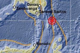 Gempa  tektonik magnitudo 7,1 di Talaud, Sulawesi Utara