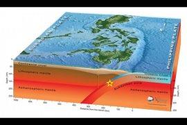 Lempeng Laut Filipina penyebab gempa Talaud miliki magnitudo tertarget 8,2