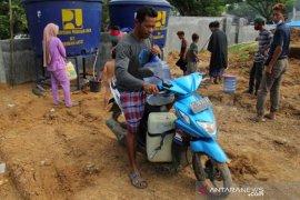 Kebutuhan Air Bersih korban Gempa Bumi Sulbar