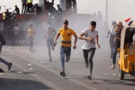 Ledakan bom bunuh diri di pasar Baghdad tewaskan sejumlah orang
