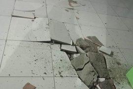 Lantai tegel RSUD Mala Talaud, Sulut pecah pascagempa magnitudo 7,1