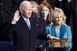 Pelantikan Presiden AS terpilih Biden dan Harris diwarnai sepinya jalanan Washington