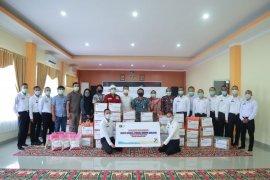 Rudenim Makassar kirim kebutuhan pokok untuk korban gempa bumi Sulbar