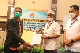 KPU tetapkan Rusdi-Ma\'mun paslon gubernur-wagub Sulteng terpilih
