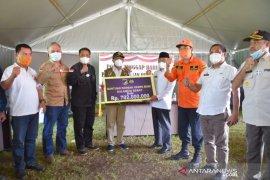Gubernur Sulbar terima bantuan Sulteng senilai Rp702 juta
