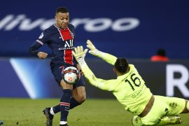 Liga Prancis - PSG lumat Montpellier 4-0