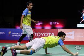 Ganda Indonesia Hendra/Ahsan terhenti ganda putra Taiwan di semifinal Thailand Open