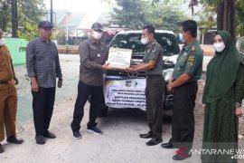 Dishut Sulteng-KPH bantu tenda  bagi kaum rentan penyintas gempa Mamuju