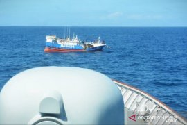 TNI AL tangkap satu kapal Taiwan di Laut Natuna Utara