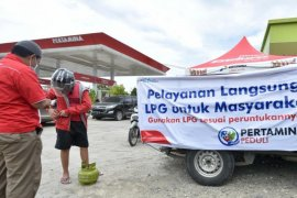 Pertamina operasi pasar LPG di 11 titik lokasi gempa Sulbar