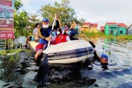 Ini yang dilakukan Pemkab Kapuas bantu korban banjir Kalsel