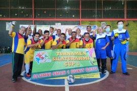Buka turnamen futsal, Camat sebut  alumni SMA 1 Bukit Batu banyak yang sukses