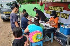Polda Sulut layanan kesehatan kepada korban banjir
