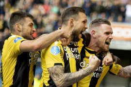 Liga Belanda-Vitesse kunci posisi dua setelah hajar FC Groningen 1-0