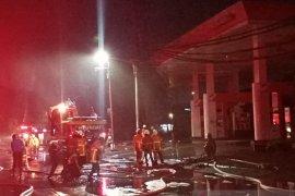 Terjadi  ledakan di kawasan SPBU Margomulyo Surabaya