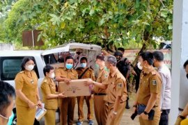 Vaksin COVID-19 tiba di Lampung Timur