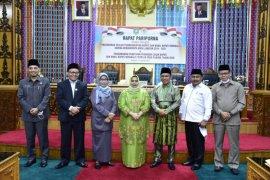 DPRD gelar paripurna penetapan Bupati dan Wakil Bupati Bengkalis