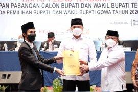 KPU Gowa tetapkan Adnan-Kio bupati dan wakil bupati terpilih
