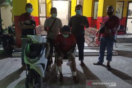 Polisi tembak kaki DPO pelaku Curas di Palu