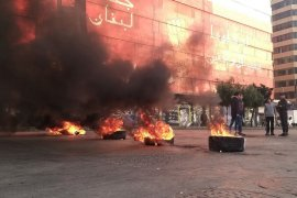Aparat keamanan bentrok dengan pemrotes di Lebanon