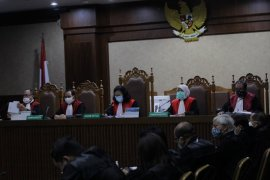 Sekretaris Benny Tjokro diperiksa kasus korupsi PT Asabri