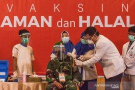 2.474 nakes dan tokoh di Riau sudah disuntik vaksin COVID-19, begini penjelasannya