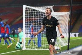 Liga Inggris-West Ham tembus empat besar setelah pecundangi Crystal Palace 3-2
