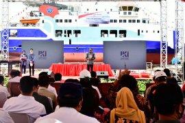 Pembuatan kapal Roro Wakatobi pesanan Kemenhub capai 30 persen