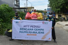 MTT Regional Sulawesi salurkan bantuan kepada korban gempa bumi di Sulbar