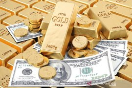 "Emas tergelincir 86,6 dolar karena \""green back\"" menguat pascapengumuman Fed"