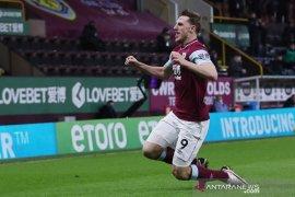 Liga Inggris, Burnley lanjutkan tren positif saat jungkalkan Aston Villa 3-2