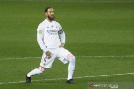 Sergio Ramos dinyatakan positif terkonfirmasi COVID-19