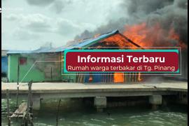 Info terkini: kebakaran rumah warga di Tanjungpinang