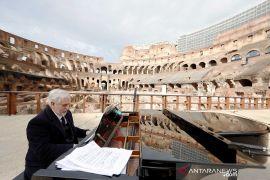 Italia memperpanjang pembatasan virus corona hingga Paskah