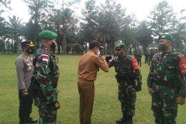 Yonif 131/BRS Payakumbuh kirim 450 prajurit ke perbatasan RI-PGN