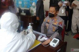 Vaksinasi tahap pertama di Tanah Datar dimulai kepada 15 orang dari Forkopimda