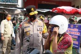 Ketaatan warga Bangka Belitung paling rendah dalam mematuhi prokes