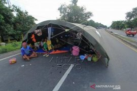 Pengungsi Banjir Indramayu