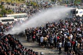 Lima tewas saat pasukan Myanmar lepas tembakan ke demonstran