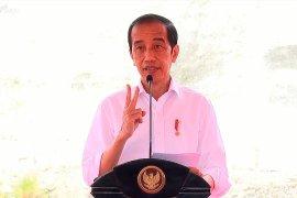 Presiden Jokowi resmikan Bendungan Tukul di Pacitan Jawa Timur