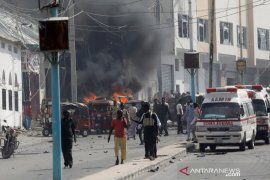 Bom bunuh diri di Somalia tewaskan 20 orang