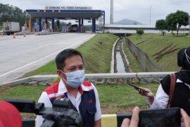 Lalu lintas di Tol Sumatera ruas Bakauheni-Terbanggi Besar turun 60 persen
